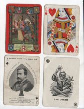 Antique Collectible playing cards  Worshipful 1914